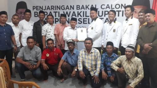Daftar di PKS, H. Antoni Imam Siap Pimpin Lampung Selatan