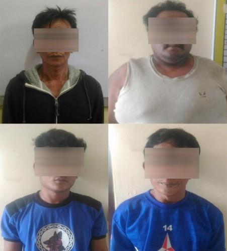 Sat Reskrim Polres Lampung Barat Berhasil Ungkap Kasus Perjudian