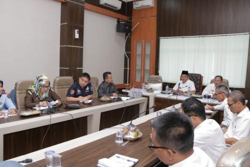 Pemkab Pringsewu gelar seminar dan lokakarya mengenai Implementasi Peradilan Anak Terpadu bagi para aparatur penegak hukum dan para pelajar. (Foto: Eprizal)