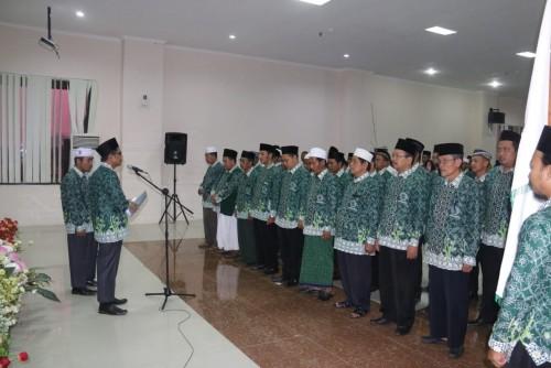 Pengurus MUI Kecamatan se-Kabupaten Pringsewu Dikukuhkan. (Foto: Istimewa)
