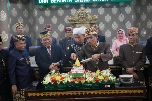 DPRD Way Kanan Gelar Rapat Paripurna Istimewa dalam Rangka Hari Ulang Tahun (HUT) ke-20 . Foto: Istimewa