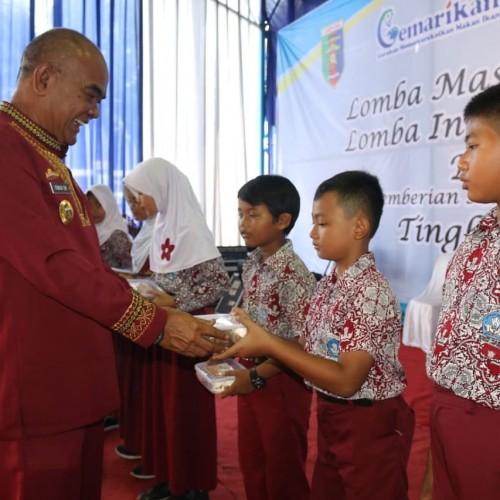 Provinsi Lampung Terus mengkampanyekan Gemarikan secara intensif agar dapat mendorong peningkatan konsumsi ikan di Provinsi Lampung. (Foto: Humas Lampung)