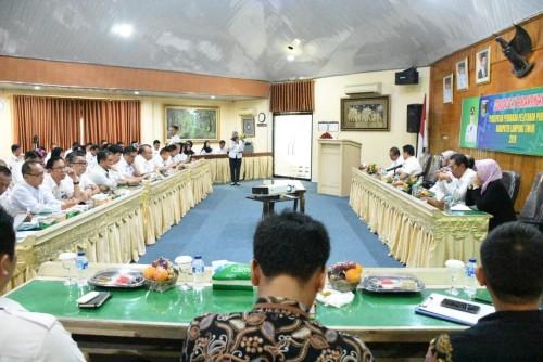 Rapat Koordinasi terkait peristiwa Talangsari 1989 dan upaya pemulihan hak-hak korban pelanggaran HAM yang berat, Rabu (23/4/2019). Foto: Istimewa